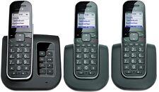 T-SINUS A205 Comfort Trio Telefon mit 3 Mobilteilen Anrufbeantworter Schnurlos