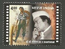 INDIA 2001 Shantaram Film Maker Director Movies Cinema Bollywood Director stamp