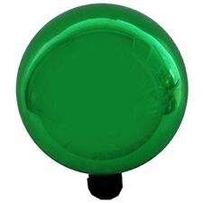 Gardener's Select Gazing Balls A14Bfg06 Glass Globe, Metallic Green, 10""