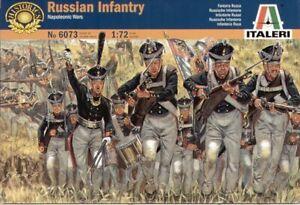 Italeri 1/72 Napoleonic Russian Infantry # 6073