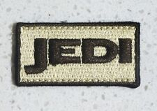 JEDI MORALE PATCH TAN ED.~STAR WARS/ZOMBIE HUNTER/RANGER 2X1 W/VELCRO®