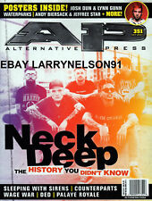 ALTERNATE PRESS AP MAGAZINE OCT 2017 #351 NECK DEEP NEW&UNREAD DAY U PAY SHIPS