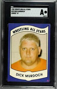 1982 WRESTLING ALL STARS Series A #29 Dick MURDOCH CERTIFIED AUTHENTIC (A)