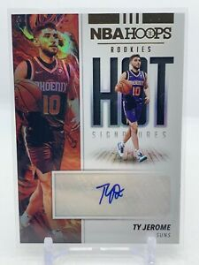 TY JEROME #HR-TJR - 2020-21 NBA HOOPS Basketball - Rookies HOT SIGNATURES AUTO
