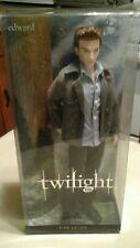 twilight edward  barbie collector pink label 2009 NIB