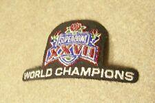 1993 Super Bowl 27 XXVII logo World Champions patch Dallas Cowboys