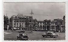 MONUMENT FRANCISCO PIZARRO AND PIZARRO BUILDING, LIMA: Peru postcard (C19343)