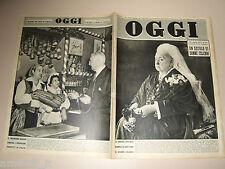 OGGI=1951/39=LEA MAGGIULLI BARTORELLI ZIETTA LIU=FRANCESCO VECELLIO=SPAL CALCIO