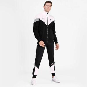 MEN'S PUMA BMW M Motorsport MCS Street Fashion Sweat Jacket Pants Tracksuit