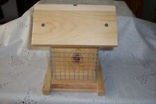 Hand Crafted - Homemade - Double Suet Bird Feeder - Made Of Pine Boards