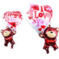 Palloncino pallone gonfiabile Orso orsetto cuore amore San Valentino festa party
