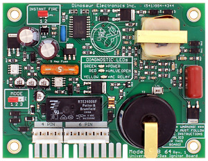 Dinosaur Electronics UIB64 12 Volt Ignitor Board Replacement