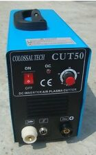 Plasma Cutter 50AMP New CUT50 Inverter 220V Voltage Includes 40 Consumables *