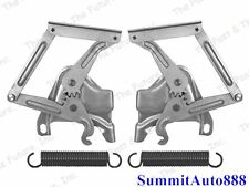 1958 1959 Chevy Pickup Truck Hood Hinges w/ Spring Pair 2 Pieces Right & Left