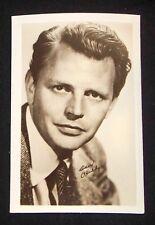 Dan O'Herlihy 1940's 1950's Actor's Penny Arcade Photo Card