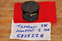 Tamron Adaptall 2  SP 2X Flat-Field 2X Tele-Converter Model 01F. VGC