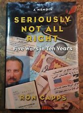 Signed Ronald Capps Seriously Not All Right hcdj vgc war zones 5 wars