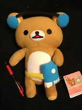 "KICKING TO THE BEAT~12 ""  San-X Rilakkuma  Korilakkuma Bear from Japan"