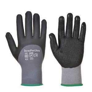 Portwest A353 DermiFlex Ultra + Safety Gloves PU/Nitrile Foam