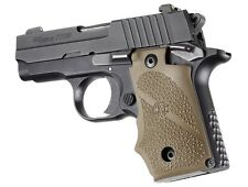 Hogue SIG Sauer P238 Rubber Grip with Finger Grooves Flat Dark Earth 38003