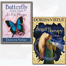 Doreen Virtue Collection Angel Therapy and Butterfly Oracle Cards 2 Oracle Cards