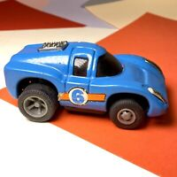 VINTAGE TONKA TOYS SPORT CAR Blue No 6 Pull BACK AND GO Model! Working Motor