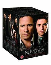 Numb3rs Seasons 1 to 6 Complete Collection DVD NEW dvd (PHE1499)