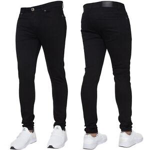 Mens Skinny Jeans Slim Fit Super Stretch Denim Pant Enzo Designer All Waist Size
