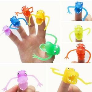 Mini Cartoon Animal Finger Puppet Toys Role Play Educational For Children Gift