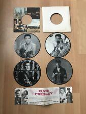 45 Tours : Elvis Presley - Interview picture disc collection RARE & IMPECCABLE
