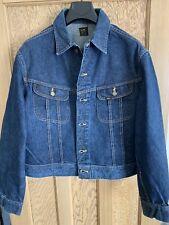 Vintage Lee 101-j Denim Jacket Size 48 Regular