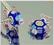1pcs MURANO GLASS BEAD LAMPWORK Fit European Charm Bracelet DW-115 lovely Animal