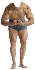 SC- 699 Muscle-Man Stand In Aufsteller Pappaufsteller  Lebensgroß