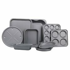 9 Piece All in 1 Ultimate Kitchen Baking Non-stick Cook and Bakeware Set Cooking