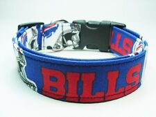 Charming Buffalo Bills Handmade Football Dog Collar
