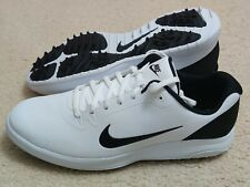 New Nike Infinity G Men's Golf Shoes Wide Sizes White-Black CT0535-101