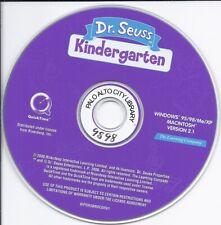 Dr. Seuss Kindergarten Cd (Pc Mac Software, children learn fun early learning)
