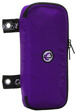 Case-it Padded Pencil Pouch for 3-Ring Binders, Purple