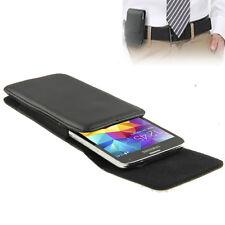 Handytasche Leder Tasche Hülle passend für Smartphone / Handy mit Gürtelclip