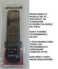 TELECOMANDO COMPATIBILE TV TOSHIBA LCD MODELLO  32W1334DB  32W1334G