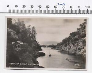 VINTAGE PHOTO CATARACT GORGE LAUNCESTON TAS  NO.21 (? 1930s-1940s)