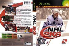 NHL 2K6 (Xbox) EA HOCKEY 2006 NEW SEALED FREE SHIPPING CANADA USA (CAN COVER)