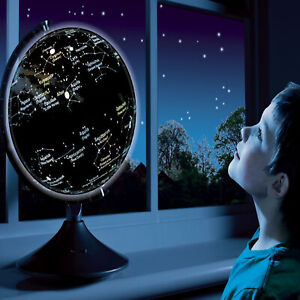 Earth And Constellation Globe  - Light Up Globe and Star Map, Educational Toy