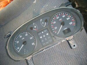 Renault Trafic 1.9 DCI 2001 - 2006 INSTRUMENT CLUSTER Speedo Tacho Fuel Gauge