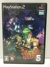 Metal Slug 6 Sony Playstation 2 PS2 Jap