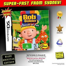 Bob The Builder game (NEW) for Nintendo DS NDS 2DS 3DS XL kids toys fun book dvd