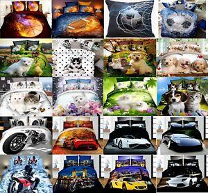 Pillowcase Pillow Cases Cushion Covers Kids Girls Boys 70x80 50x70 40x40