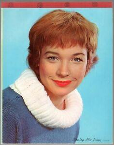 Shirley MacLaine vintage writing tablet pad 1950s Unused Movie Star