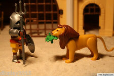 "Playmobil® farbiger Gladiator ""Tomanbwa "" mit Löwe/ Römer / Legionäre EBR239"