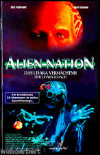 """VHS """" Alien NATION - Das Udara Vermächtnis """" (1997) Eric Pierpoint - Gary Graham"""